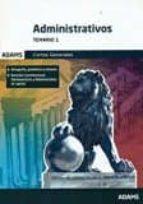 administrativos de las cortes generales: temario 1-9788490849101