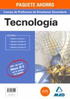 paquete ahorro tecnología cuerpo de profesores de enseñanza secun daria-9788490935101