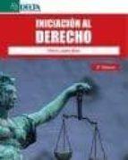 iniciacion al derecho (2ª ed.)-elvira lopez diaz-9788492954001