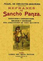 refranes de sancho panza (ed. facsimil de la ed. de madrid, 1905)-miguel de cervantes saavedra-9788495636201