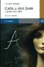 carta a don juan: cuentos completos-carmen laforet-9788496675001