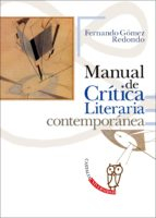 manual de critica literaria contemporanea fernando gomez redondo 9788497408301