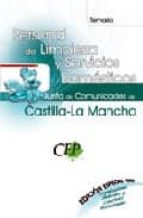 temario oposiciones personal de limpieza y servicios domesticos. junta de comunidades de castilla-la mancha (edicion especial)-9788498825701