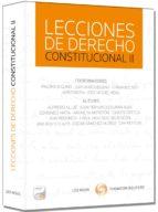 lecciones de derecho constitucional-fernando rey-9788498986501
