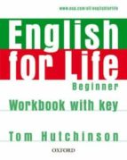 english for life beginner: workbook with ky-9780194307611