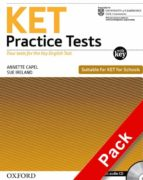 ket practice tests: practice tests with key and audio cd pack (exams)-9780194574211