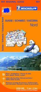 mapa regional suisse nord/ schweiz nord/ svizzera nord (leyenda e n español) (2013)-9782067183711