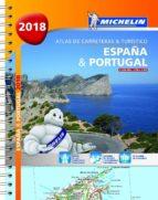 españa & portugal 2018 (formato a-4) (atlas de carreteras y turistico)-9782067227811