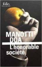 l honorable societe dominique manotti 9782070793211