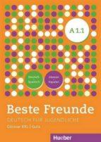 beste freunde a1/1. glosario xxl deutsch-spanisch /alemán-español (german) perfect paperback-9783193410511