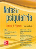 notas de psiquiatría m. pedersen 9786071509611