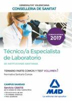 TÉCNICO/A ESPECIALISTA DE LABORATORIO DE INSTITUCIONES SANITARIAS DE LA CONSELLE