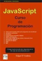 javascript curso de programacion edgar d'andrea font 9788415033011