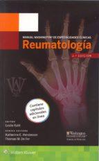 manual washington de especialidades clínicas: reumatología leslie kahl 9788416004911
