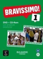 bravissimo! 1 dvd + cd rom  (a1) (italiano lingua straniera e lin gua seconda . ita ls/l2) 9788416057511
