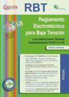 El libro de Reglamento electrotecnico para baja tension (rbt) autor AA.VV TXT!