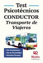 test psicotecnicos. conductor. transporte de viajeros-odette ochoa guerra-9788416745111