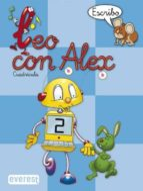 leo con alex 2. escribo (cuadricula) (educacion infantil)-carmen et al. calvo-9788424109011