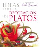 ideas p/decoracion de platos 9788430565511