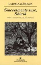 sinceramente suyo shurik-liudmila ulitskaia-9788433971111
