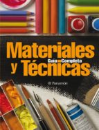 guia completa materiales y tecnicas 9788434227811