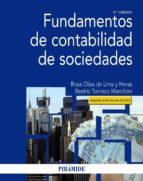 fundamentos de contabilidad de sociedades (4ª ed.) rosa olias de lima y heras beatriz torvisco manchon 9788436837711