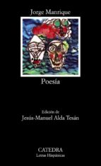 manrique: poesia (15ª ed.) jorge manrique 9788437600611