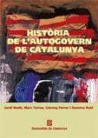 historia de l autogovern de catalunya-jordi font i rodo-9788439372011