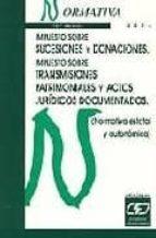 impuesto sobre sucesiones y donaciones itp y ajd. normativa 2009-9788445414811