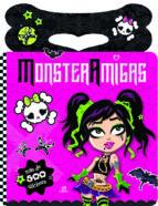 monster amigas (pegatinas y colorines) 9788466230711