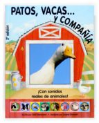 patos, vacas y compañia (con sonidos reales de animales)-gail donovan-9788467503111