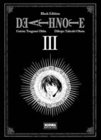 death note black edition 3 (de 6) tsugumi ohba takeshi obata 9788467912111