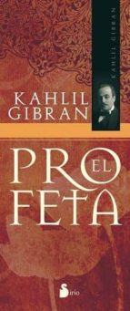 el profeta-gibran khalil gibran-9788478088911