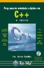 programacion orientada a objetos con c++ (incluye cd-rom) (4ª ed)-francisco javier ceballos-9788478977611