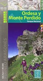 ordesa y monte perdido parque nacional 9788480905411