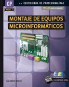 montaje de equipos microinformaticos juan carlos moreno perez 9788492650811