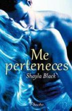 me perteneces shayla black 9788496952911