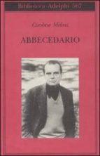 abbecedario czeslaw milosz 9788845925511