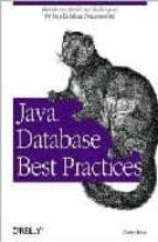 java database best practices-george reese-9780596005221