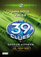 the 39 clues 2: una nota falsa gordon korman 9788408098621
