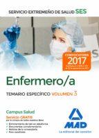 enfermero/a del servicio extremeño de salud (ses). temario especifico (vol. 3) 9788414211021
