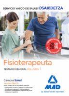 fisioterapeuta de osakidetza-servicio vasco de salud. temario gen eral volumen 1-9788414215821