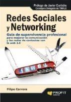 redes sociales y networking (ebook)-filipe carrera-9788415330721