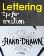 lettering: tips for creatiion (ed. bilingüe español   ingles) 9788416500321