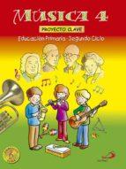 proyecto clave. musica 4 (primaria)-9788428525121