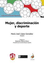 mujer, discriminación y deporte maria jose lópez gonzález 9788429020021