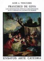francisco de goya:los cartones para tapices y sus comienzos en ma drid janis tomlinson 9788437611921