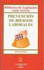 Descargas de PDF para libros Prevencion de riesgos laborales