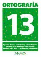 ortografia 13 (primaria) (ed. 2004)-andrea pastor fernandez-9788466727921