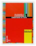Comentario texto filosofia 1º bachillerto Ebook nl descargado